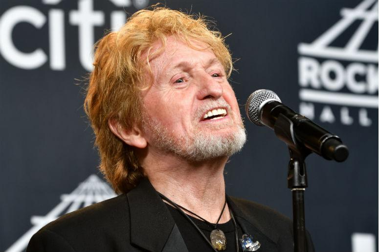 2017 inductee Jon Anderson of Yes attends the Press Room at the 32nd Annual Rock & Roll Hall of Fame Induction Ceremony at the Barclays Center in Brooklyn, NY on Apri;l 7, 2017