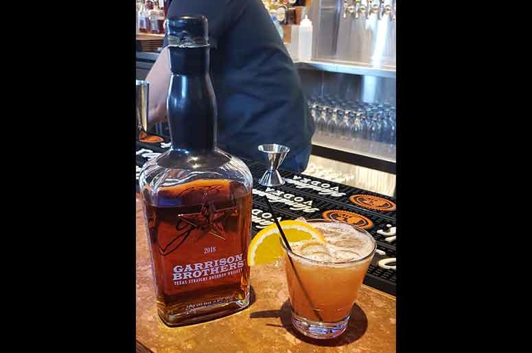 The Bourbon Take Over Of Texas - Fort Worth: City Works Blackberry