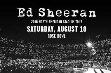 Ed Sheeran - Rose Bowl Aug 18
