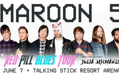 Maroon 5 - Talking Stick Resort Area - June 7th