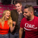 The New Guys, 97.1 AMP Radio morning show, Chelsea Briggs, Brian Moote, Edgar Sotelo