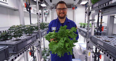 AP: Scientists Harvest 1st Vegetables In Antarctic Greenhouse