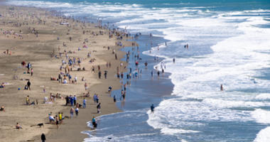 Ocean Beach in San Francisco is part of the Golden Gate National Recreation Area.