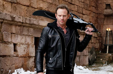 "Ian Ziering in ""Sharknado 5: Global Swarming"""