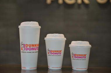 Dunkin' Donuts Coffee Cups