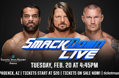 Win Tickets To WWE Smackdown