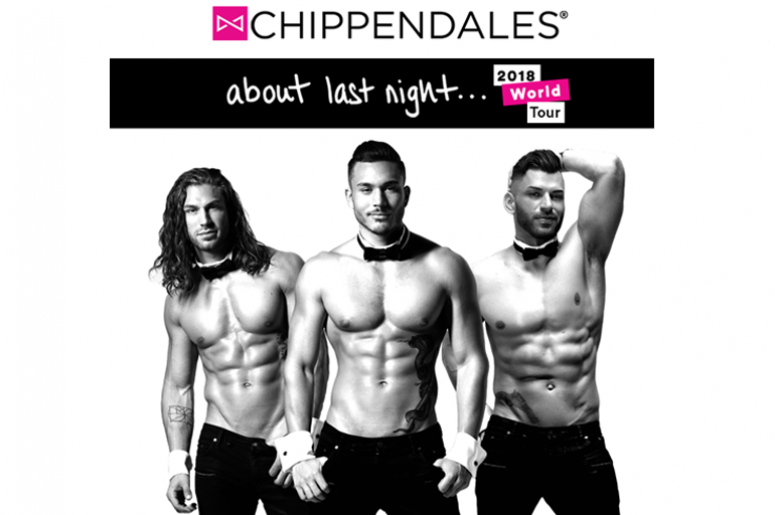 Chippendales - About Last Night 2018 World Tour