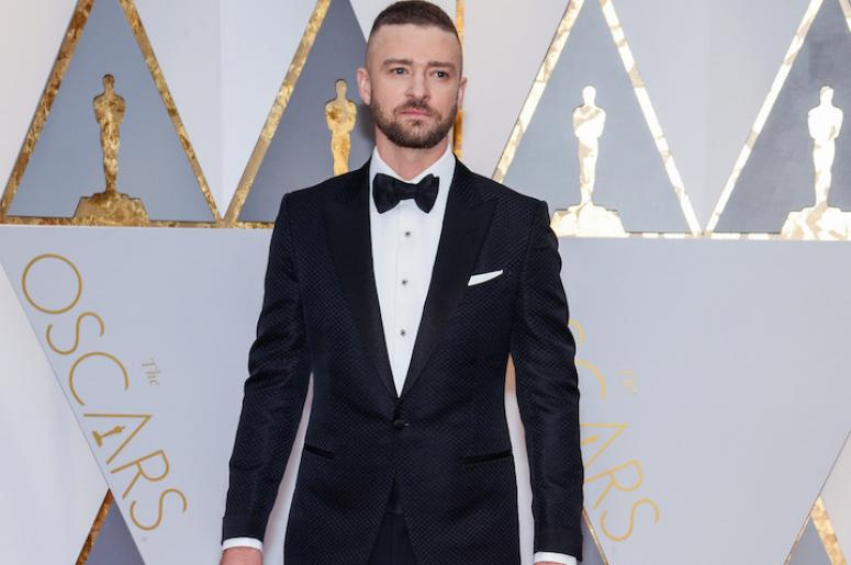 Justin Timberlake walking the red carpet during the 89th Academy Awards ceremony, presented by the Academy of Motion Picture Arts and Sciences, held at the Dolby Theatre in Hollywood, California on February 26, 2017. (Photo by Anthony Behar) *** Please Us
