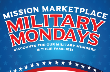 Military Mondays at Mission Marketplace