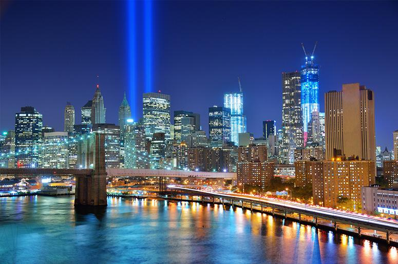 9/11 Tribute In Light, New York City