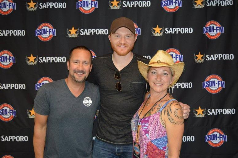 Eric Paslay with John and Tammy