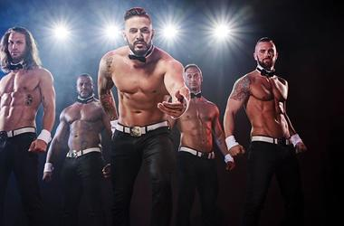 Chippendales, male strippers