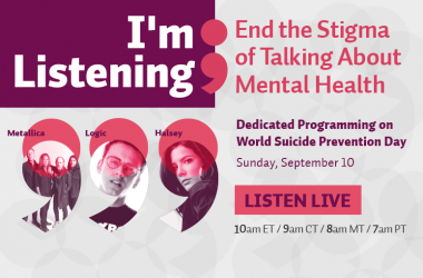 I'm Listening; End the Stigma of Talking About Mental Health