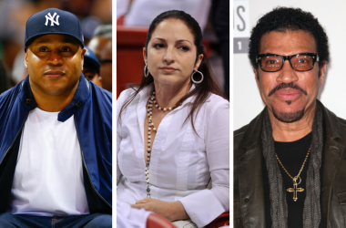 Rapper/actor LL Cool J, Singer/actress Gloria Estefan, Musician Lionel Richie