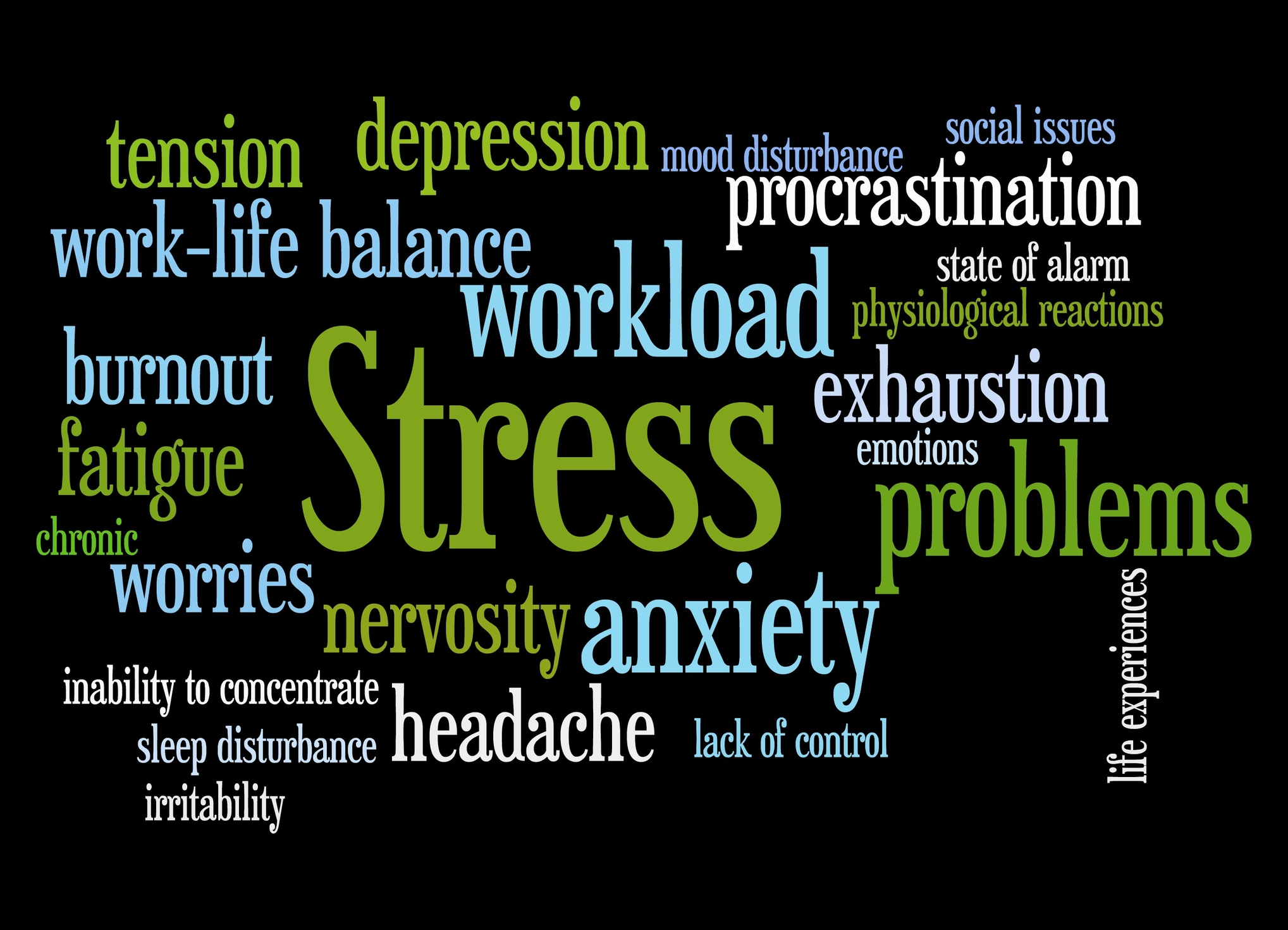 the different stressors affecting the usls' What impact does the environment have on us what about stress read sue's story to learn how stress can affect health.