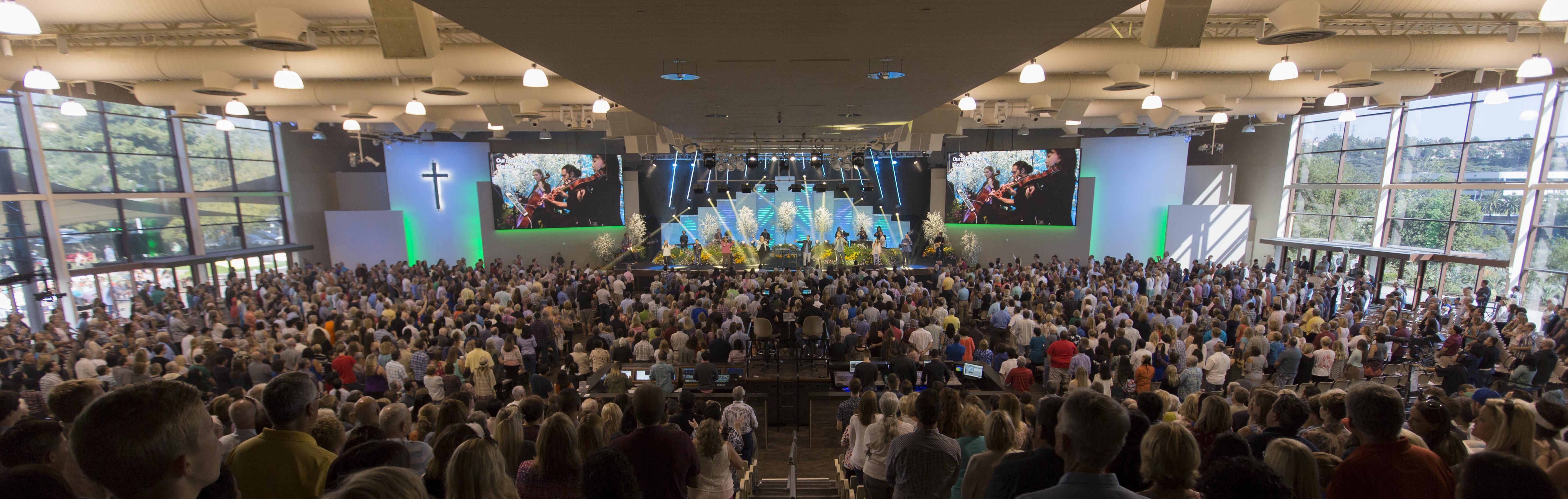 Saddleback Church: Daring Faith Blog: Easter Fills God's House