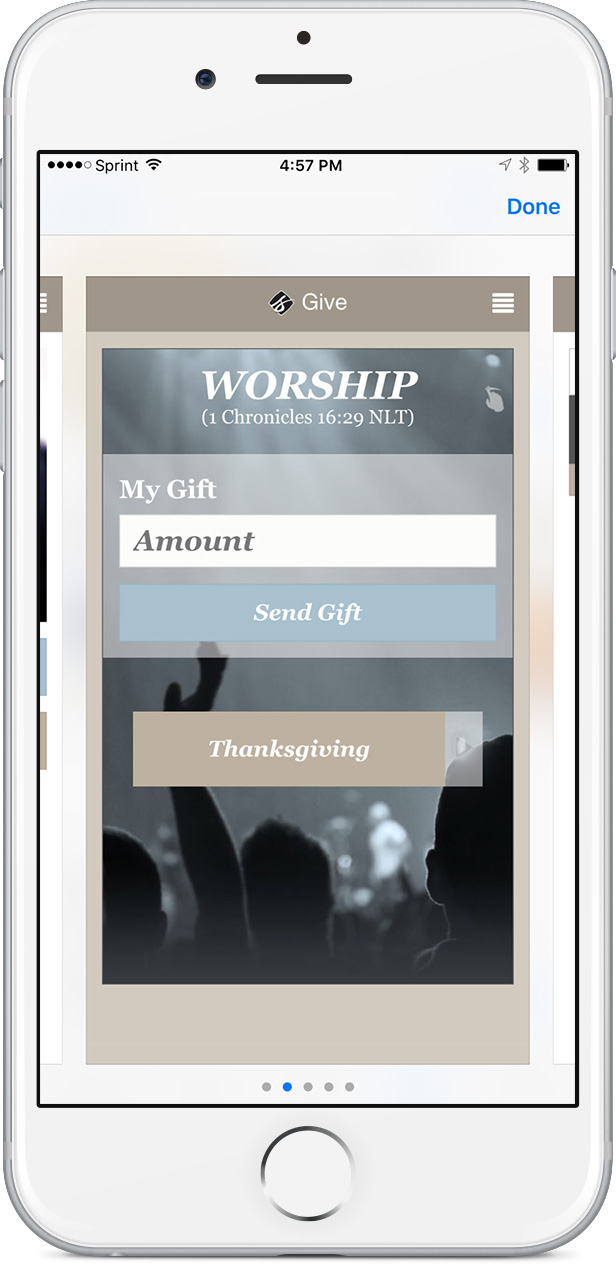 The Giving App