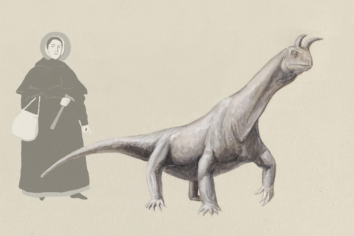 An artist's reconstruction of Shringasaurus indicus