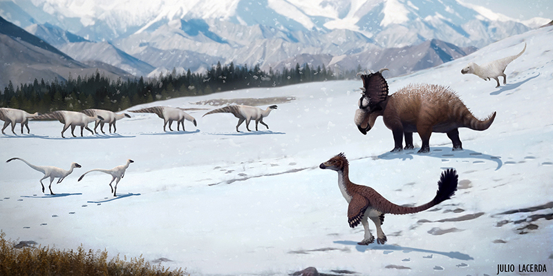 Dinosaurs Of The North Pole Earth Archives