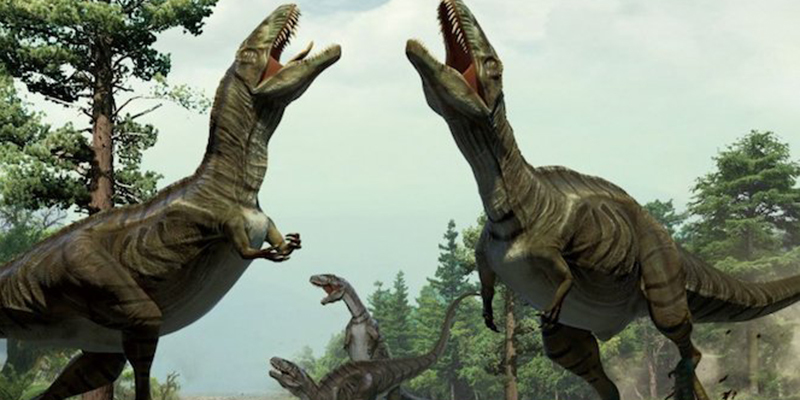 Dance of the dinosaurs
