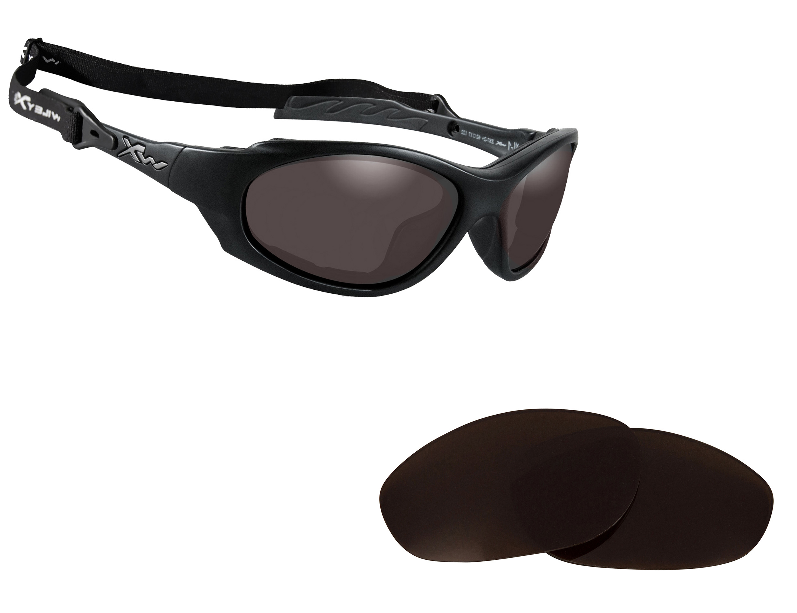 Replacement Lenses for Wiley X XL-1 Sunglasses Anti-Scratch Multi-Color