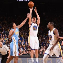 Warriors snap out of defensive stupor to finish off Nuggets