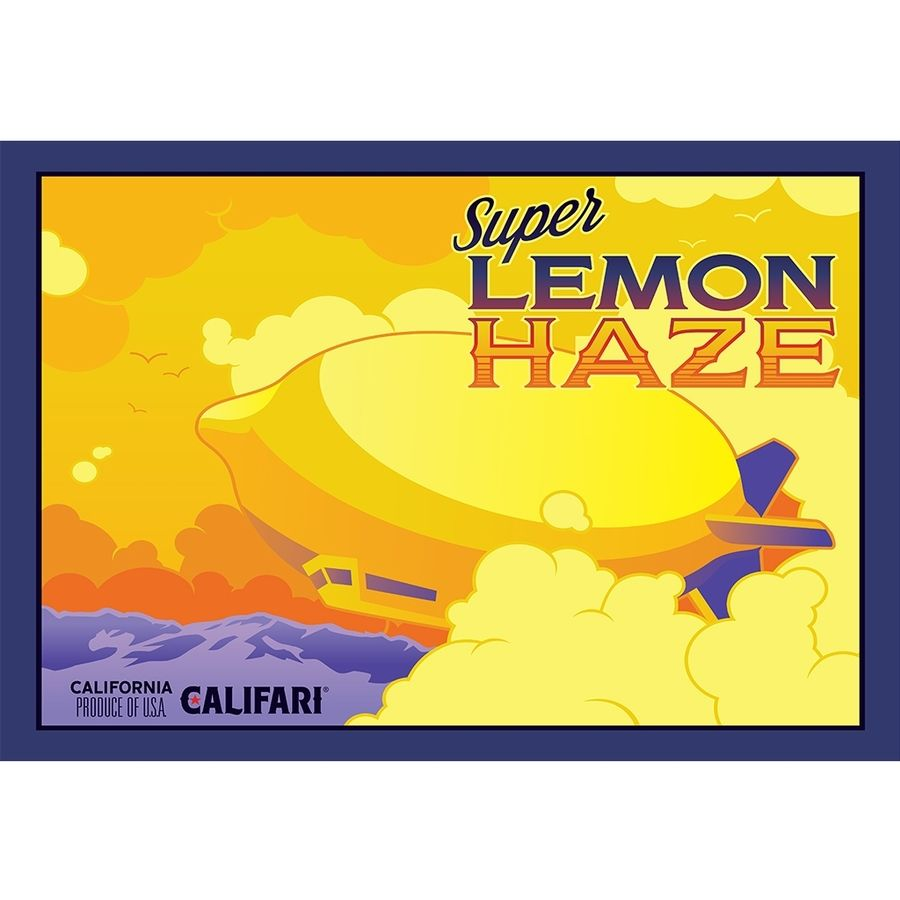 Timothy Teruo Watters created Super Lemon Haze. The self-taught realist fuses historical art styles with pop culture design styles to create a characteristic brand. PHOTO: Courtesy Califari