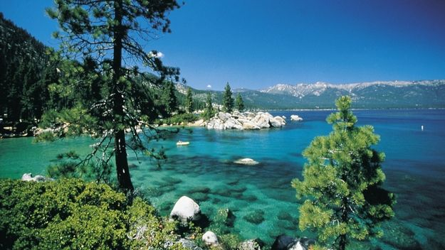 Lake Tahoe is a superb location for a private toke.