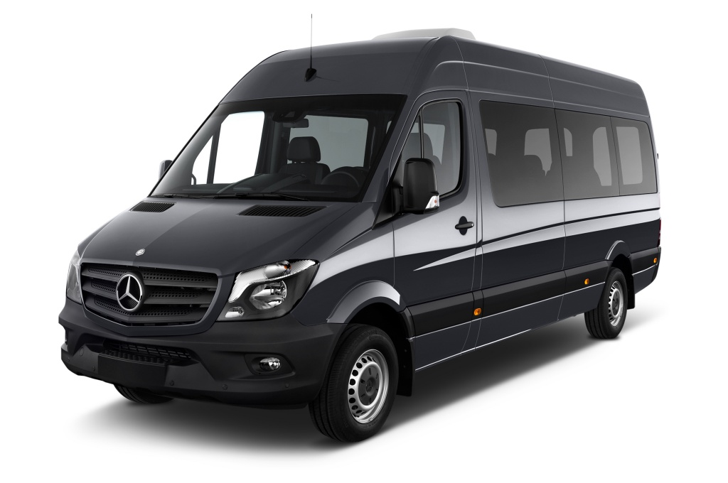 Emerald Farm Tours feature licensed bonded drivers in Mercedes Sprinter Vans