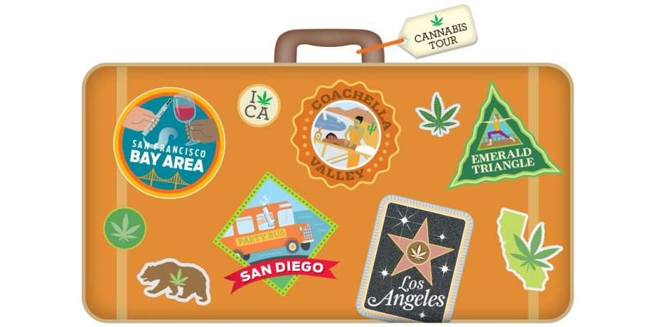 Emerald Farm Tours begins serving canna-tourists in the Bay Area. | The Chronicle illustration