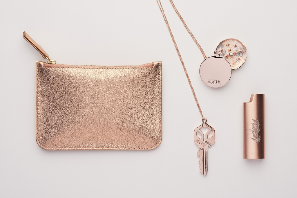 Asche's rose gold 2018 collection targets luxe female shoppers. | Photo courtesy of Asche Industries