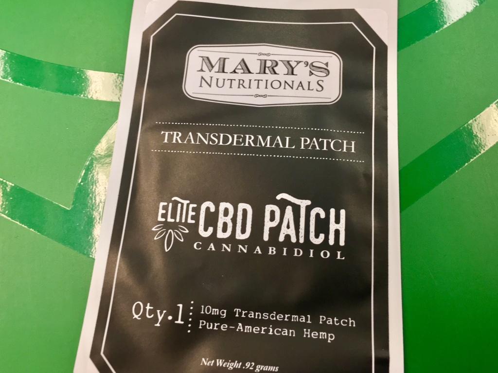 marijuana skin patch