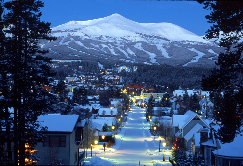 Of all the places in Summit County, CO, Breckenridge, the mining-turned-ski town, is a primary center of activity. To the north, Frisco, Dillon, and Silverthorne are strung along I-70 and provide convenient bases for skiing multiple resorts.