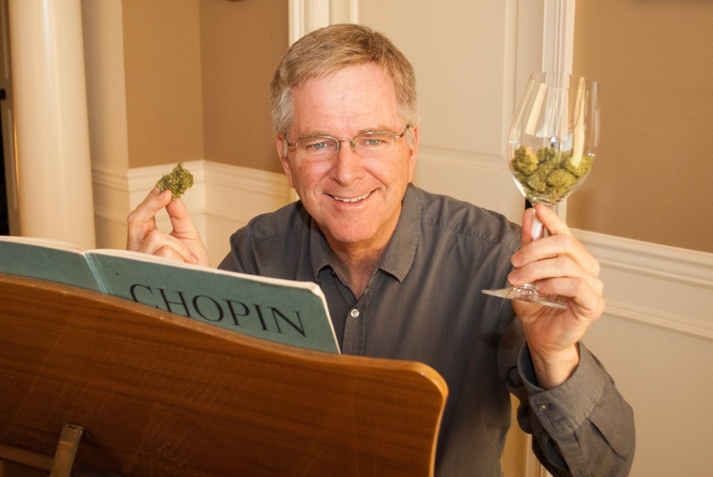 Travel writer Rick Steves addresses Congress on cannabis policy today.