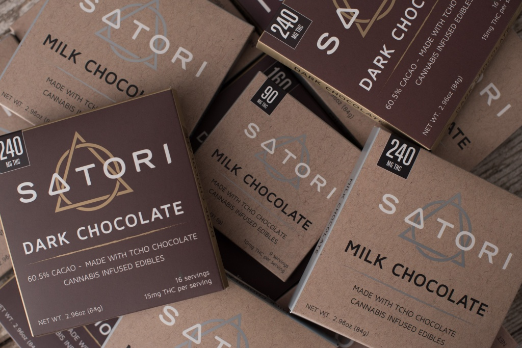 Satori edibles featuring Tcho chocolates are a hit with foodies. | Photo by Satori