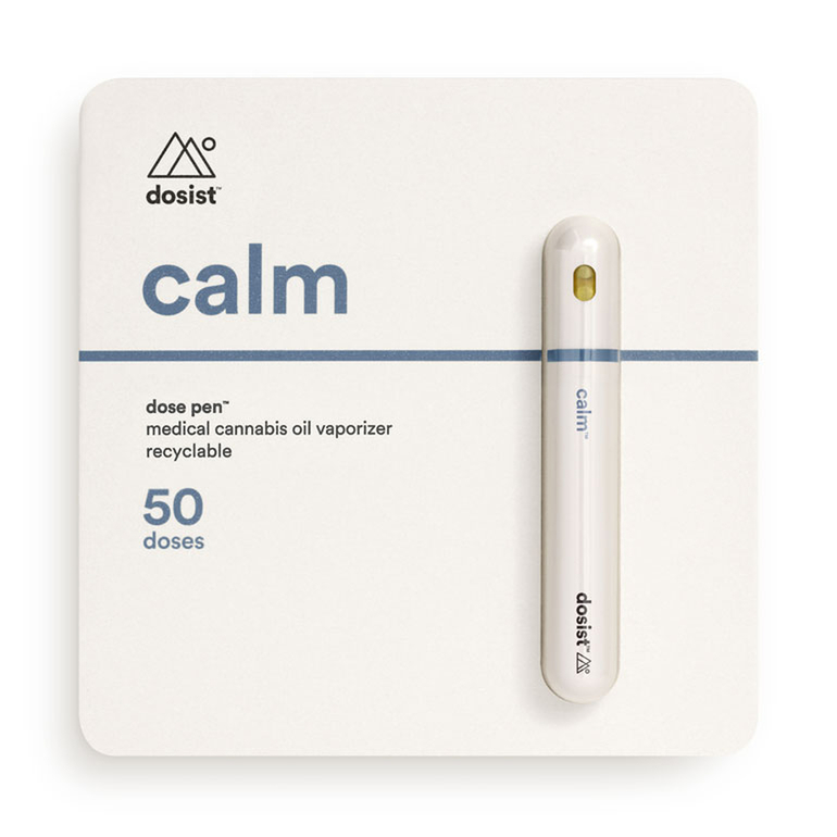 The dosist calm pen is intended to induce sleepiness.