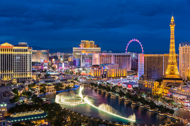 Hotels and casinos on the Las Vegas Strip are not where you want to enjoy recreational cannabis smoking. | Photo: Getty