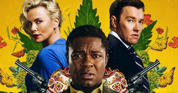 Straight to streaming: Gringo stars Selma's David Oyelowo as a hapless courier for a ethics-challenged corporation.