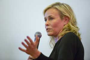 Chelsea Handler at a fundraiser in San Francisco on March 16 confirmed she is working on her own line of cannabis products. | Photo: Brian Feulner