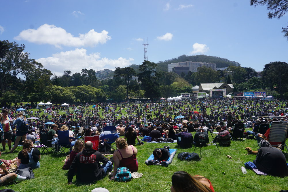 420 Hippie Hill will draw thousands this year to the free, but licensed event.