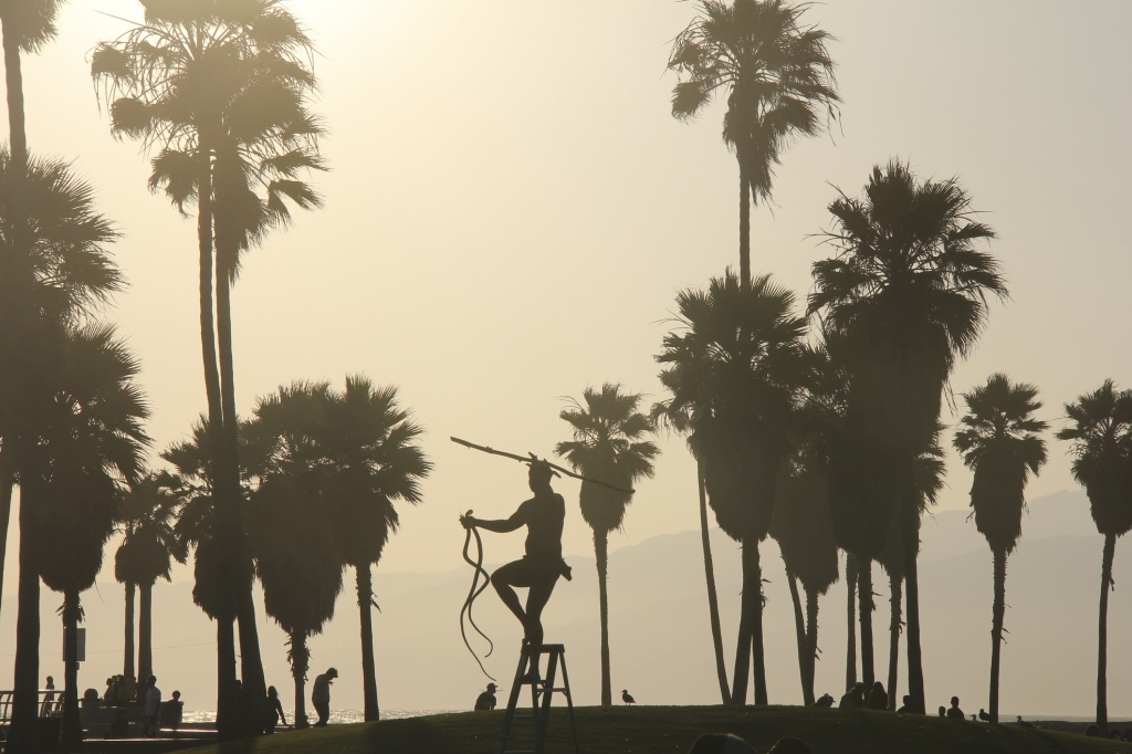Venice Beach is full of all kinds of wackos. But you've got to love 'em. | Photo: Getty