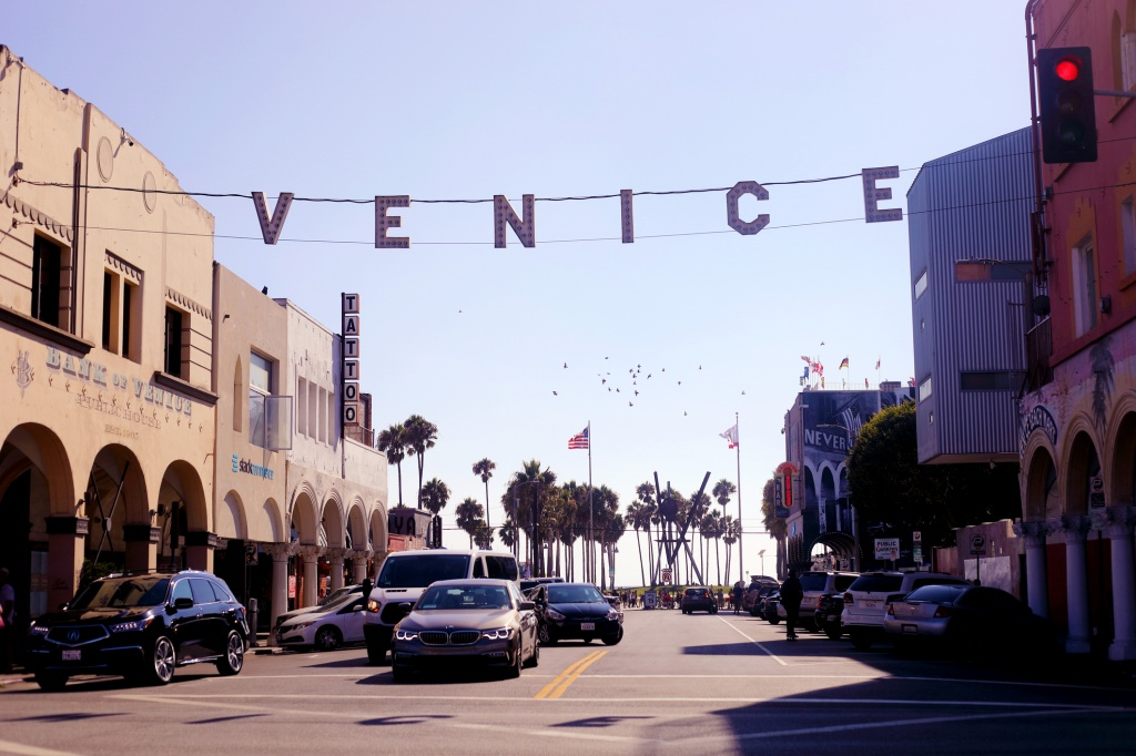 All bets are off trying to find parking at Venice Beach on the weekends. | Photo: Getty