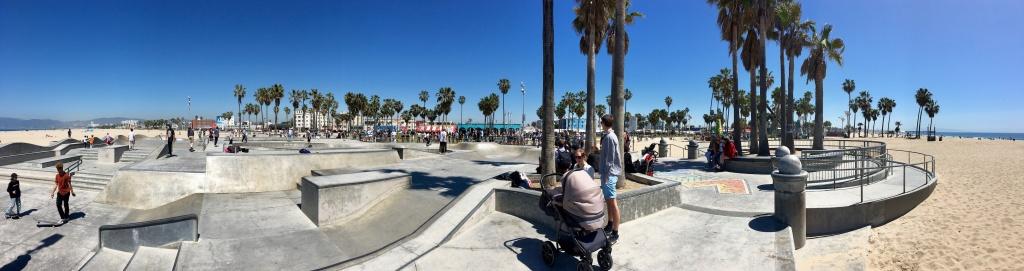 The skate park in Venice Beach. | Photo: David Downs