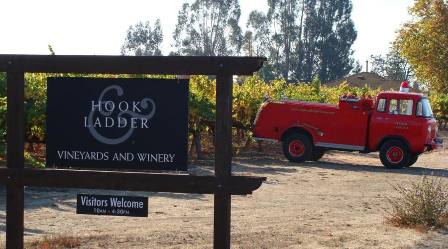 hook, hook and ladder, ladder, Hook & Ladder, winery, santa rosa