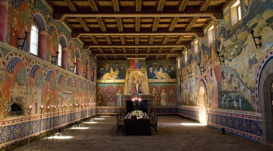 castle winery, Castello di Amorosa, Castello, Calistoga, winery, tasting room, Napa, California, The Press