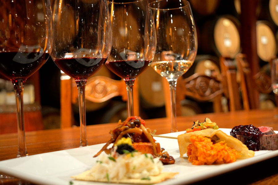 V Sattui Food and Wine pairing