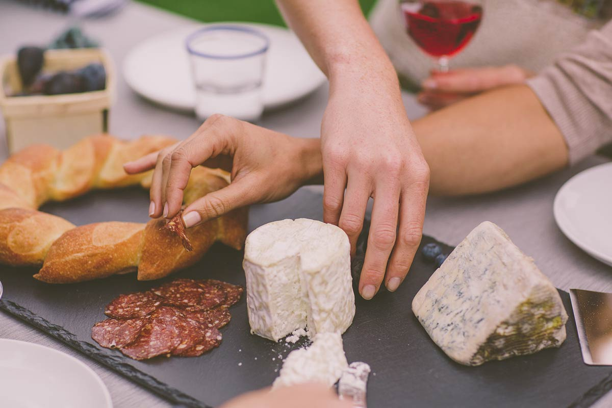 Napa Cellar Cheese and Bread