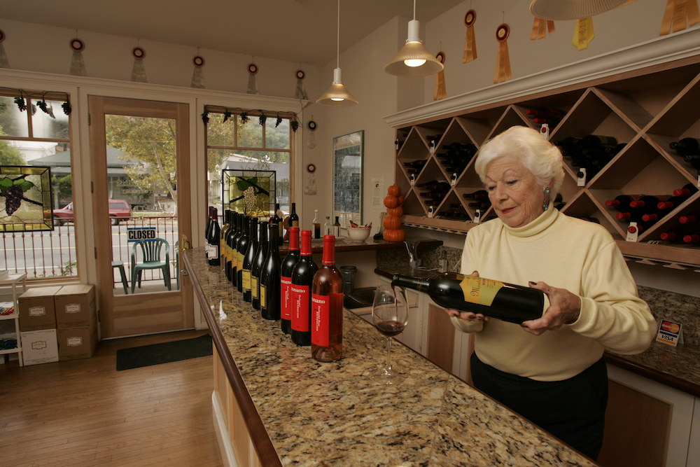 Graziano, Family of Wines, Ukiah, California, The Press