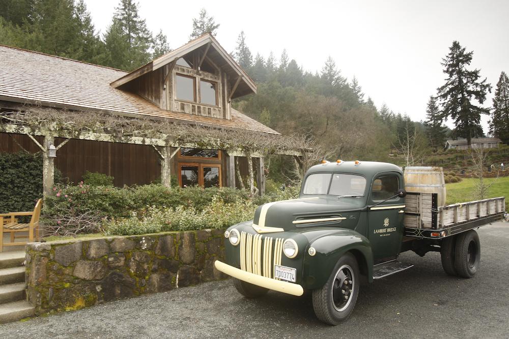 Lambert Bridge, winery, Sonoma County, Fort Ross, The Press