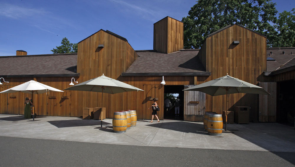 Cakebread, Architecture, design, Napa, winery, California, The Press